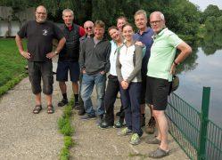 Flusstauchen an der Ruhr